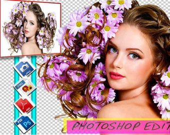 I will retouch or edit your photo with photoshop