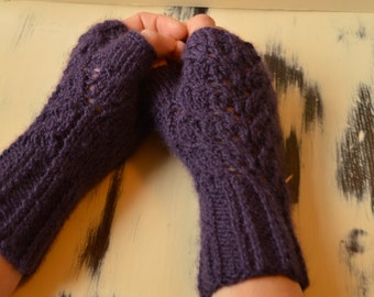Fingerless gloves, hand warmers, womens mittens in various colours