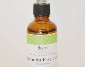 100% Pure Organic Peppermint Essential Oil