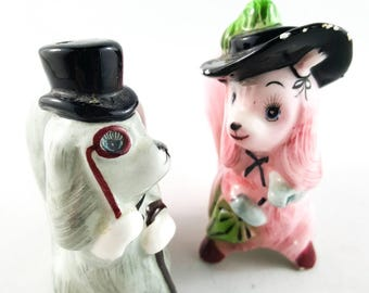 NEW PRICE!!  Salt and Pepper Dandy Dogs