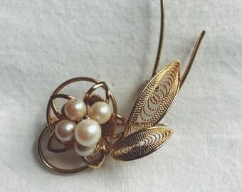 Delicate Flower Brooch