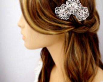 OOAK Wedding Hair Comb Bridal Hair Comb Rhinestone Hair Comb Hair Accessory Wedding Jewelry Bridal Jewelry Headpiece Wedding Comb
