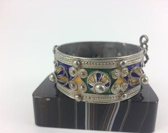 Berber Enamel Bracelet