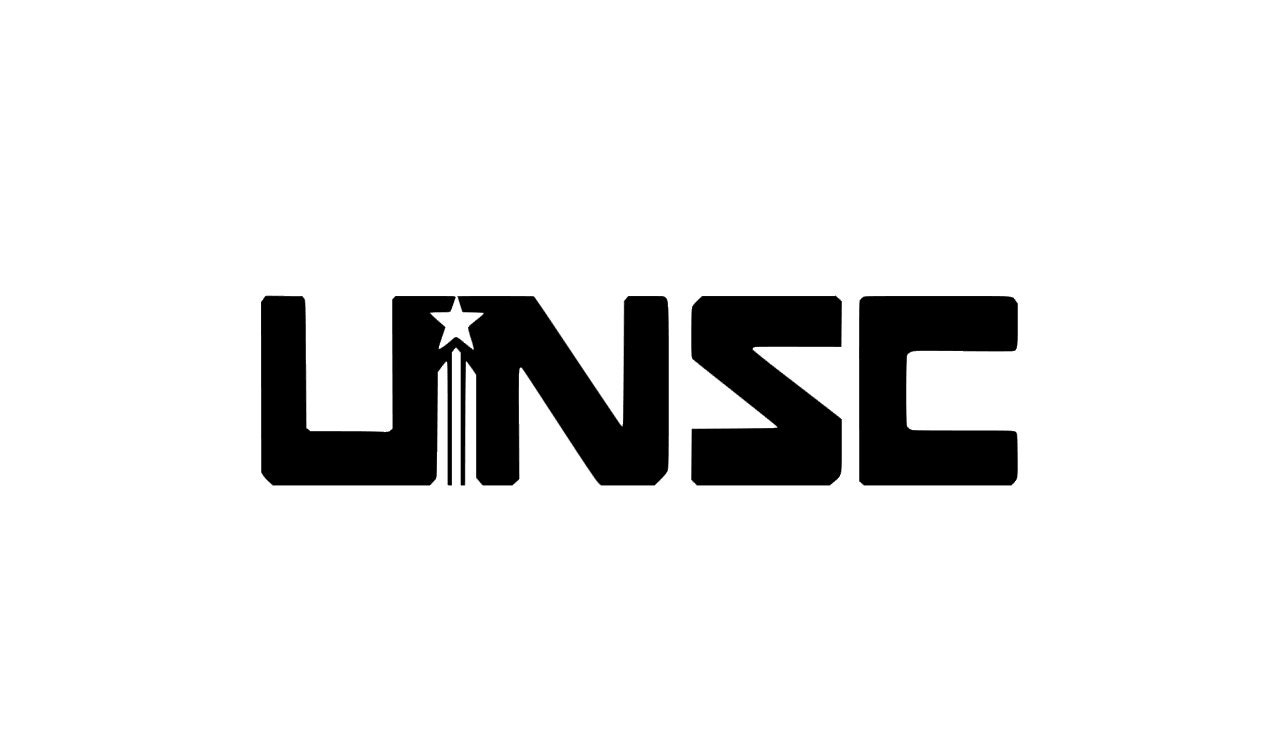 Unsc Simple Halo Vinyl Decal Halo Decal Master Chief