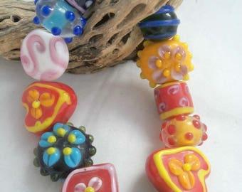 Lampwork Assorted Beads (1932)