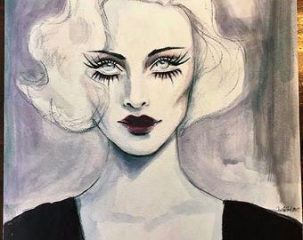 Limited Edition High Quality Fine Art Print Inspired by 1930's Old Hollywood