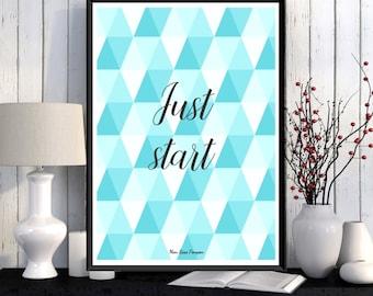 Scandinavian poster design, Wall art decor, Graphic pattern, Poster art, Home decor, Wall poster, Printable wall art, Art print, Gift idea