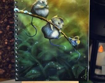 "Book ""Three little mice"""