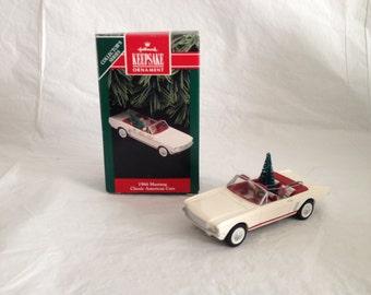 Hallmark Keepsake Ornament 1966 Mustang Classic American Cars 1992