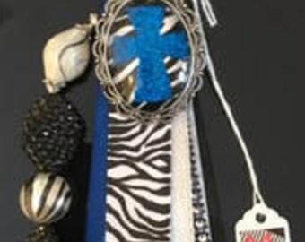 Zebra Blue Cross AMAI [a-my] Attachment