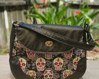 Day of the Dead Skulls Shoulder Bag