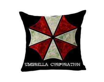 Resident Evil-Umbrella Corporation-decor-art-Biohazard-zombies