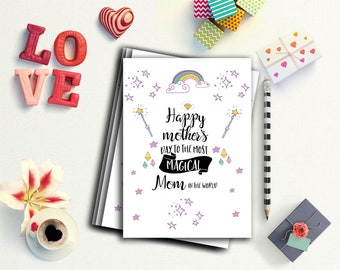 Mother's Day Printable card, Happy Mother's Day Print, Gifts For mom, Mother Day Quote,  Printable For Mother's day,  Mother's day card