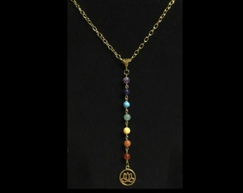 Chakra Lotus - chain necklace
