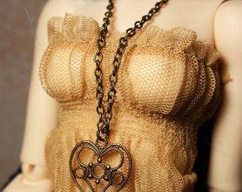 MSD Vintage Heart Necklace