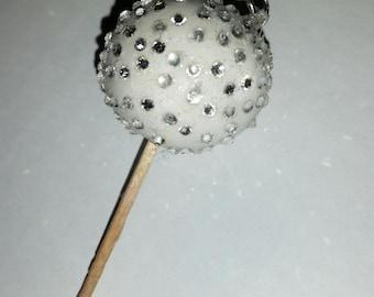 Cute!!!! lolly pop polymer clay and rhinestone pendant