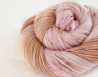 PRE-ORDER - Queenie - Gosling - 80/10/10 superwash merino/ cashmere/ nylon sock yarn