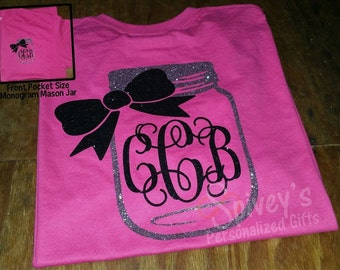Monogram MASON JAR SHIRT!!!