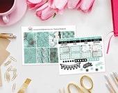 Botanical Weekly Sticker Kit - Set of 39 Planner Stickers perfect for Erin Condren Life Planner, Kikki K or Filofax Planner and more...