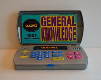 1993 Tiger's Quiz Wiz Electronic Question and Answer Game