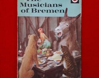 Vintage Ladybird Book ~ The Musicians of Bremen ~ Matt 24p 1975-1978