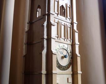 Mantle Clock, Glastonbury Tor, Somerset, Medieval Tower
