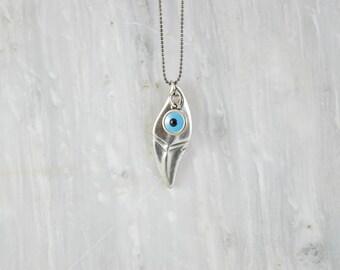 Evil Eye Pendant, Men's Necklace, Evil Eye Jewelry, Evil Eye Necklace, Men's Pendant, Men's Jewelry, Gift For Him, Handmade in Greece.