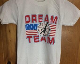 Vintage Youth 10-12 Dream Team USA Basketball Shirt