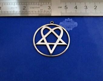 Leviathan cross necklace logo jewelry necklace pendant him band heartagram necklace logo symbol pendant emblem amulet talisman sign aloadofball Image collections