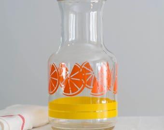 Libby Orange Juice Carafe