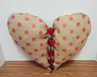 Home Decor Heart Decorative Pillow Throw Pillow