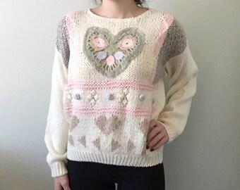 Vintage Handknit Sweater