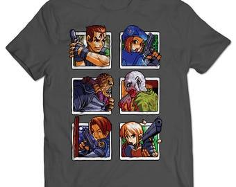 Resident Evil Cards T-shirt