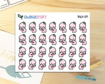 Buji - SICK / SNEEZE - Planner Stickers (BUJI-019)