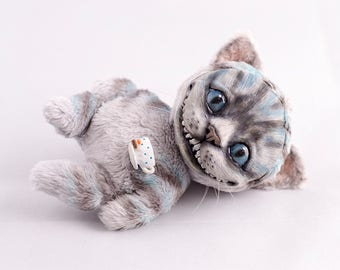 Сheshire Сat Handmade Kitty Pet Doll Toy Animal