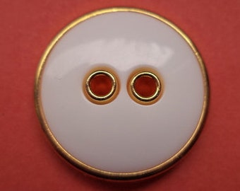 9 white buttons 21mm (2126) button jacket buttons