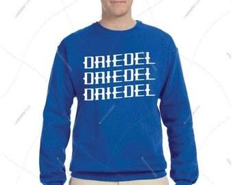 "Unisex - Men/Women - Premium Retail Fit ""Driedel Driedel Driedel"" Crewneck Sweatshirt"