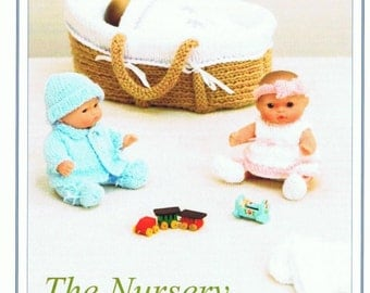 Knitting Pattern For Dolls Moses Basket : Doll moses basket Etsy