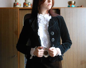 1970s velvet blazer by Betty Barclay