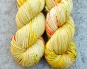 CITRUS PEEL [luxe fingering, 4ply]