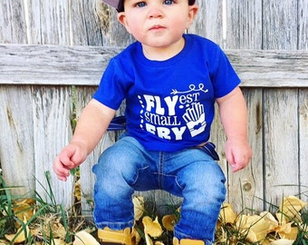 Flyest small fry shirt - funny kid shirt - funny kid tshirt - shirts for toddlers - small fry shirt -