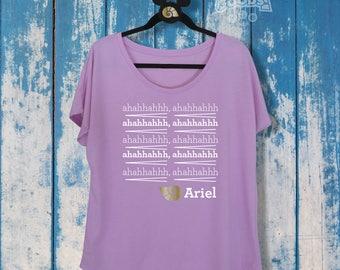 Ariel's Song | Ladies Slouchy Tee | Disney-Inspired | The Little Mermaid | Disney Princess