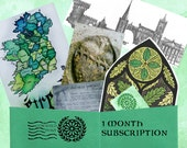 ST. Patrick's Day - March Issue of Emerald Post Parcel - 1 Month