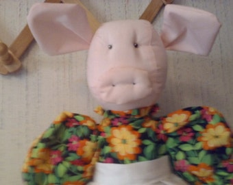 Yellow Flower Piggy Bagholder