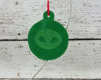 Green Bedtime Hero Ornament/Gift Tag