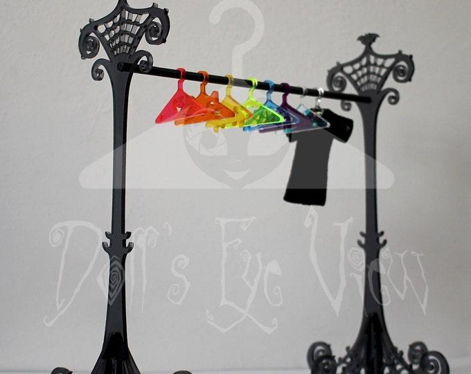 """Clothing Rack for Monster High, Blythe, Pullip - """"Bat Rack"""" by Dollseyeview"""
