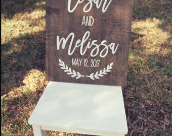 Rustic Wedding Sign, Wood Wedding Signs, Hand Painted Signs, Rustic Wood Signs, Wood Signs