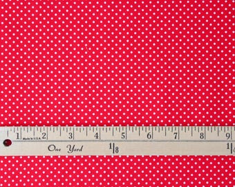 Robert Kaufman Pimatex Basics - Red - Sold by the yard