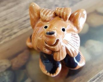 Little Guys Yorkie Figurine
