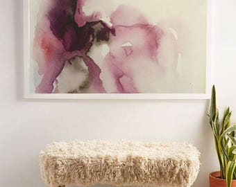 Large Abstract Painting Print Art Abstract Painting Print On Canvas Fine Art Print Watercolor Art Print On Canvas Abstract print